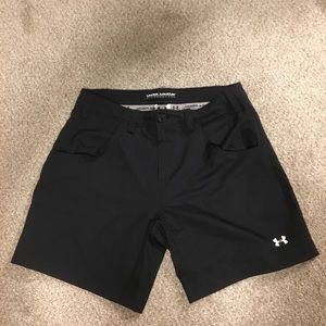"Under Armour performance shorts 7"" inseam. NWT!"